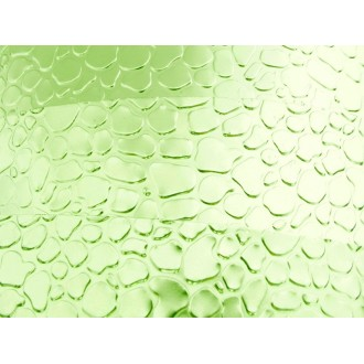 2 Mètres fil aluminium plat optique vert pomme 15mm