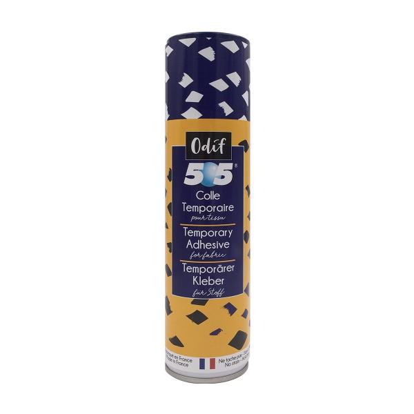 Adhésif temporaire 505 pour tissu et papier - 250 ml - Photo n°1