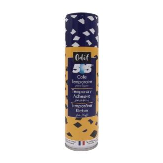 Adhésif temporaire 505 pour tissu et papier - 250 ml