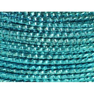 1 Mètre fil aluminium hammer turquoise 2mm