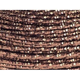 5 Mètres fil aluminium hammer chocolat 2mm