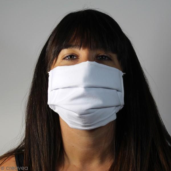 Masque en tissu lavable - 3 couches - Adulte - Photo n°3