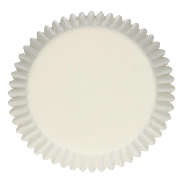 Caissettes à cupcakes blanches 500 pièces - Photo n°1