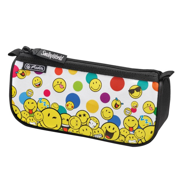Trousse rectangulaire sport - Smiley - Rainbow faces - Photo n°1