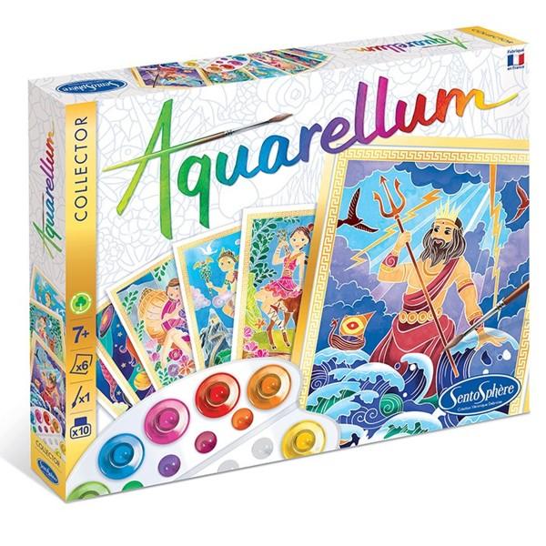 Coffret Aquarellum Collector - Dieux et Déesses Grecs - Photo n°1