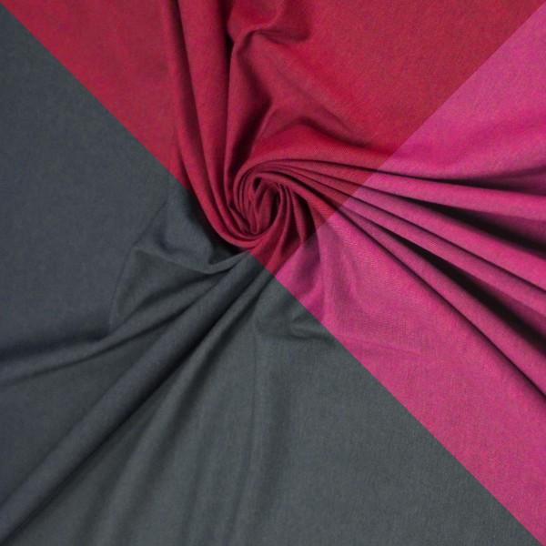 Tissu Jersey - Coton et Lycra - Par 10 cm (sur mesure) - Photo n°1
