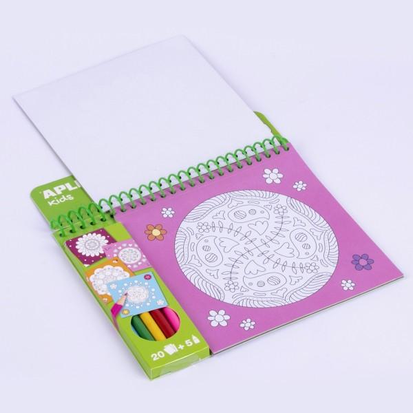 Cahier de coloriage - Mandala - 20 pages - Photo n°2