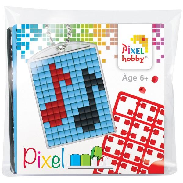Kit créatif Pixel - porte-clés 4 x 3 cm - Musique - Photo n°1