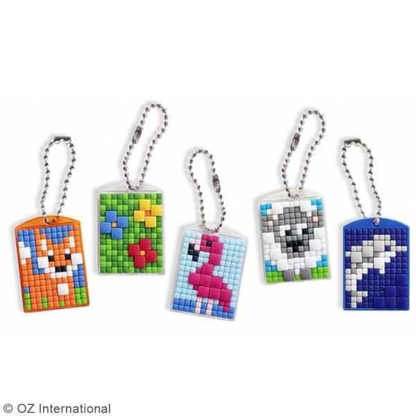 Kit créatif Pixel - 3 porte-clés - Photo n°2