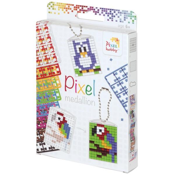 Kit créatif Pixel - 3 porte-clés - Photo n°1