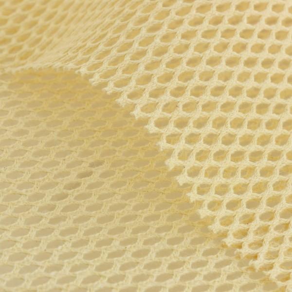 Tissu filet Mesh en coton bio - Naturel - Par 10 cm (sur mesure) - Photo n°1
