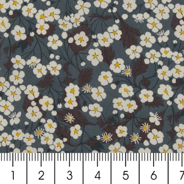 Tissu coton léger - Liberty Mitsi - Par 10 cm - Photo n°2