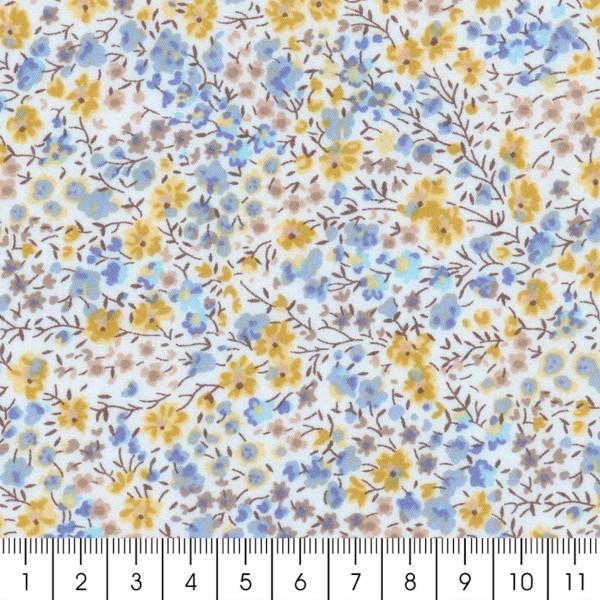 Tissu coton léger - Liberty Phoebe Édition 40 ans  - Par 10 cm - Photo n°3