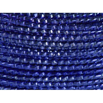 10 Mètres fil aluminium hammer bleu royal 2mm