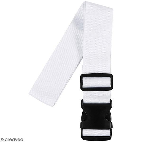 Bandoulière de bagage - blanc - 92/164 cm - 1 pce - Photo n°5