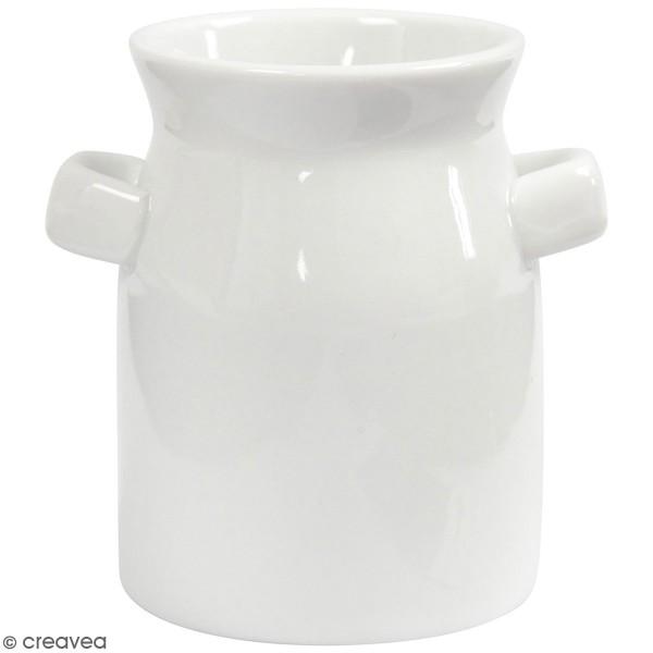 Assortiment de bidons de lait en céramique - 7,5 x 7,5 cm - 12 pcs - Photo n°1