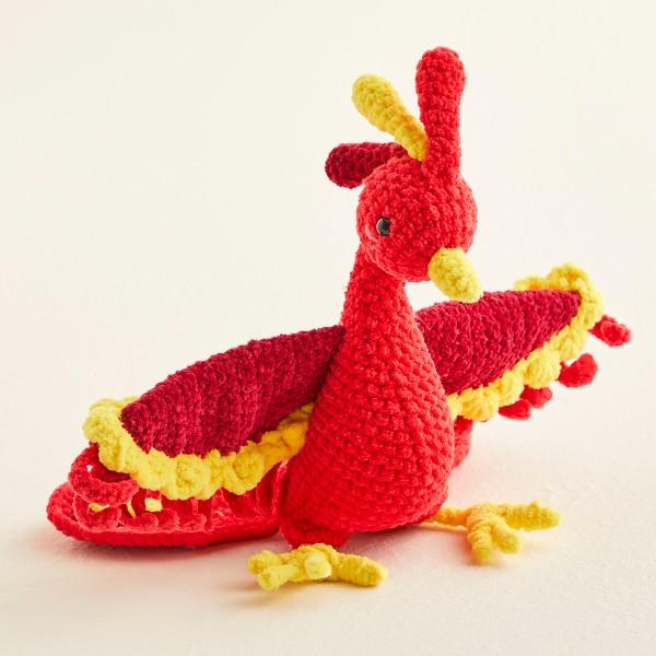 Livre crochet Amigurumi - Happy Chenille Book 1 - Animaux fantastiques - 5 modèles - Photo n°3