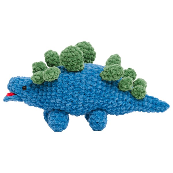 Livre crochet Amigurumi - Happy Chenille Book 2 - Dinosaures - 5 modèles - Photo n°2