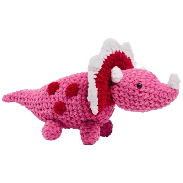 Livre crochet Amigurumi - Happy Chenille Book 2 - Dinosaures - 5 modèles - Photo n°3