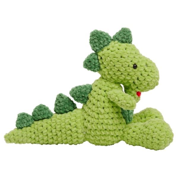Livre crochet Amigurumi - Happy Chenille Book 2 - Dinosaures - 5 modèles - Photo n°4