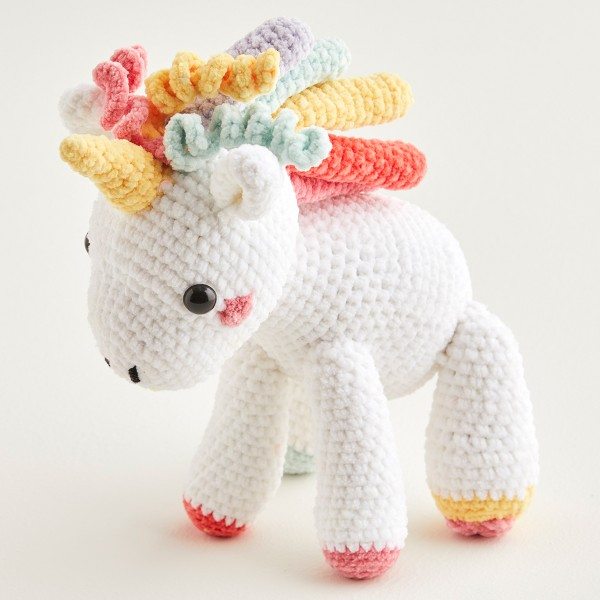 Fil velours DMC Happy chenille - Crochet et Tricot - 15 g - Photo n°2