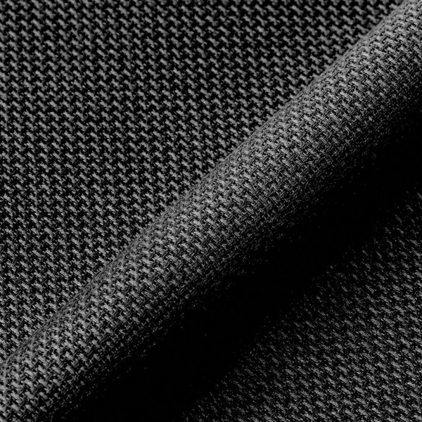 Toile à broder Aida prédécoupée - Noir - 38,1 x 45,7 cm - 5,5 pts/cm - Photo n°2