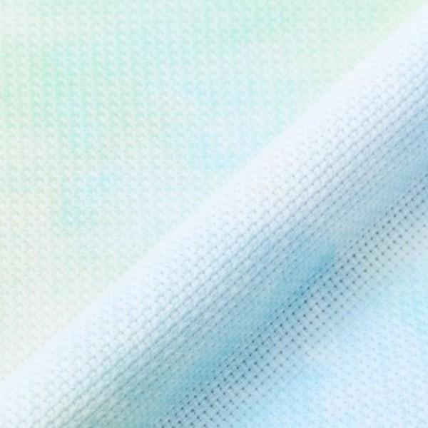 Toile à broder Aida imprimée - Vert/Bleu - 38,1 x 45,7 cm - 5,5 pts/cm - Photo n°2