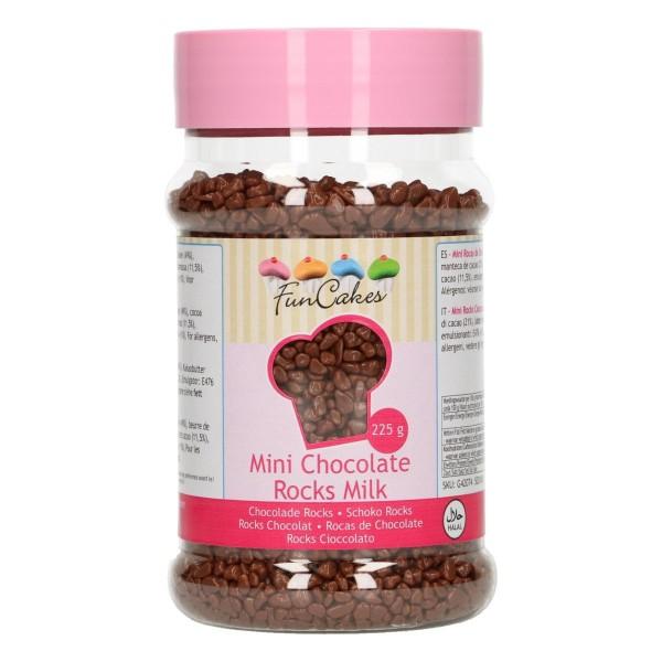 Mini rochers en chocolat au lait 225 gr - Photo n°1
