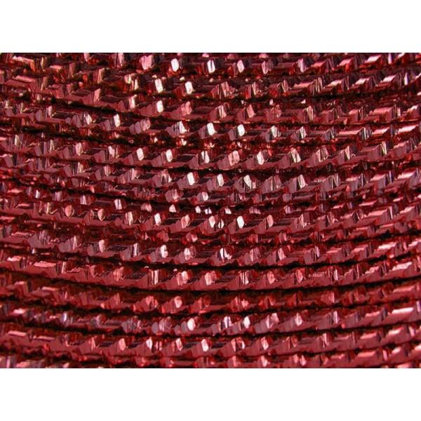 10 Mètres fil aluminium hammer sang de boeuf 2mm - Photo n°1