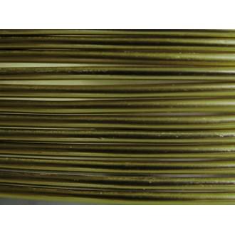 5 Mètres fil aluminium vert olive 2mm