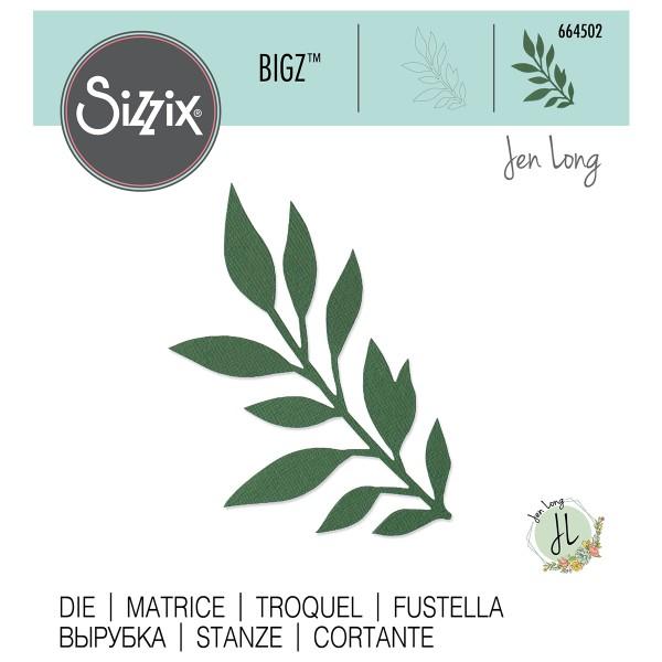 Matrice Sizzix Bigz - Feuilles - Photo n°1