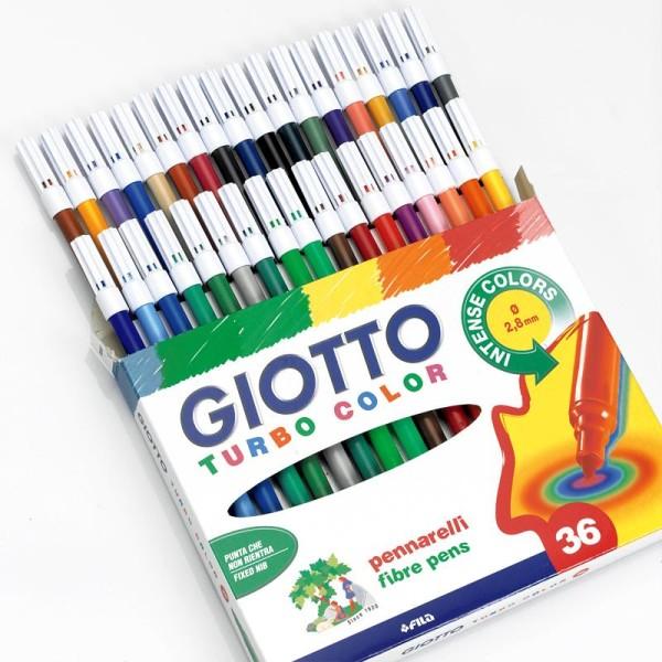 Etui de 36 feutres de coloriage Turbo color GIOTTO - Photo n°1