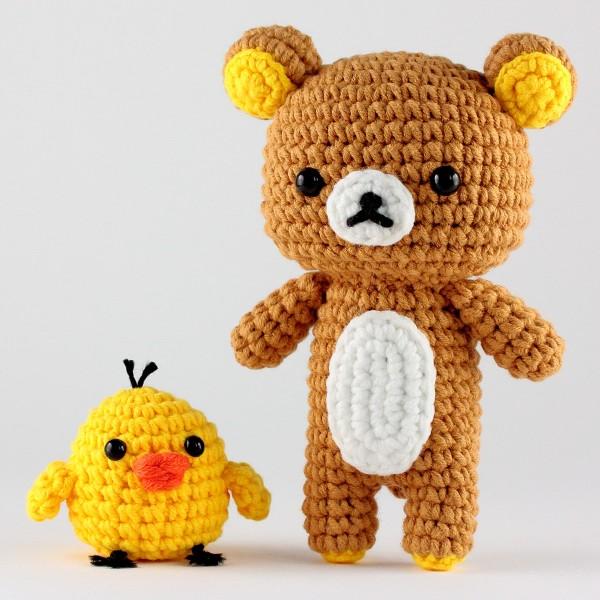 Kit Crochet Amigurumi - Rilakkuma - 15 pcs - Photo n°2