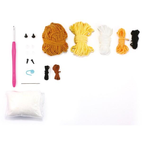 Kit Crochet Amigurumi - Rilakkuma - 15 pcs - Photo n°3