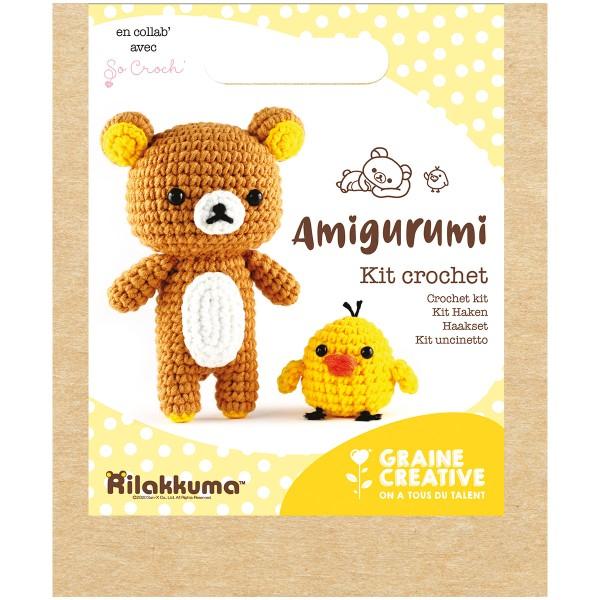 Kit Crochet Amigurumi - Rilakkuma - 15 pcs - Photo n°4