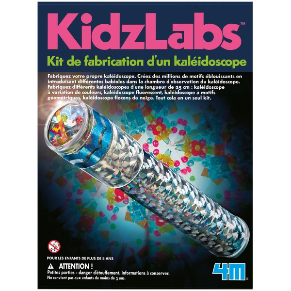 Kit scientifique Kidz Labs - Fabrique un kaléidoscope - Photo n°1
