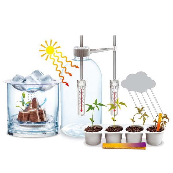 Kit scientifique Kidz Labs Green Science - Atelier météo - Photo n°2