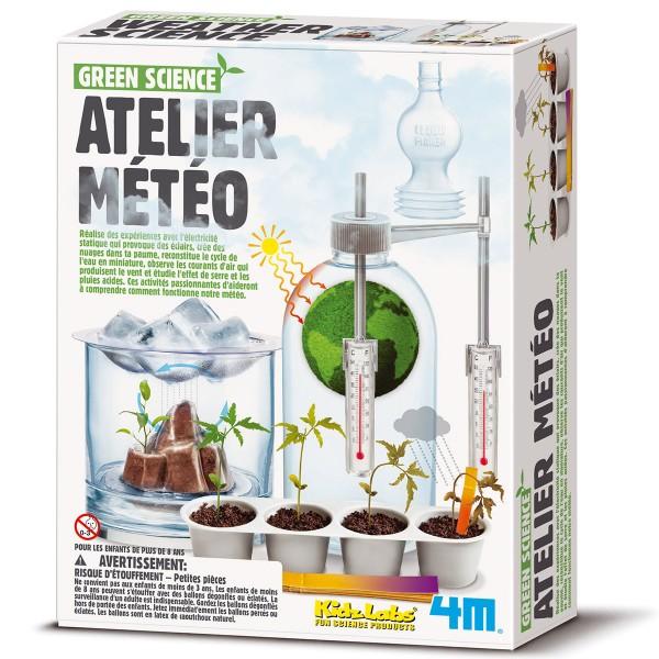Kit scientifique Kidz Labs Green Science - Atelier météo - Photo n°4