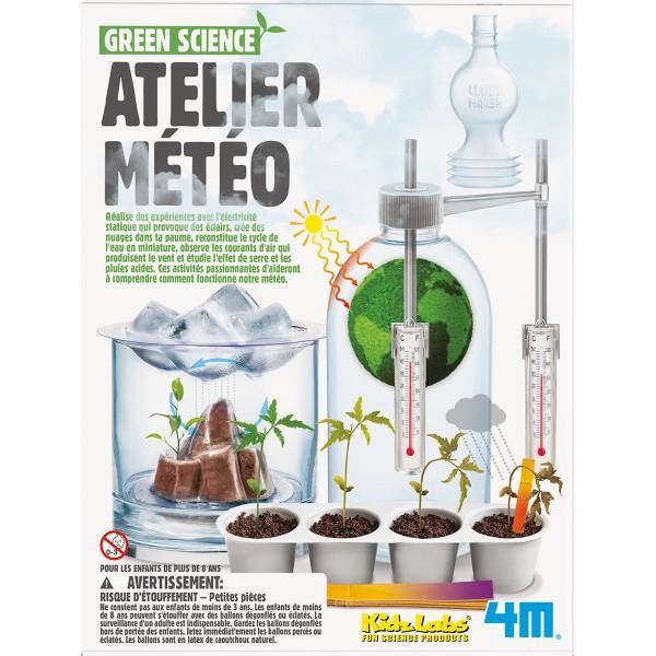 Kit scientifique Kidz Labs Green Science - Atelier météo - Photo n°1