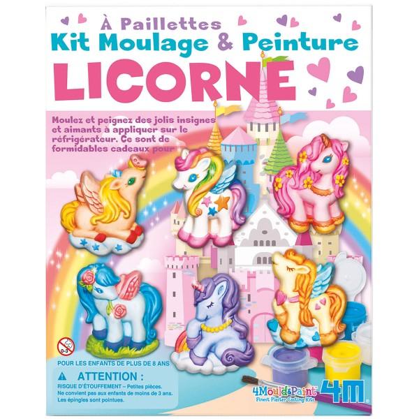 Kit moulage - Magnets Licorne - 6 pcs - Photo n°4