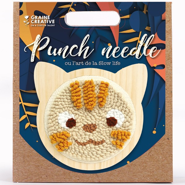 Kit Punch Needle - Chat - Photo n°3