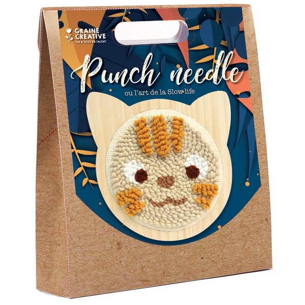 Kit Punch Needle - Chat - Photo n°1