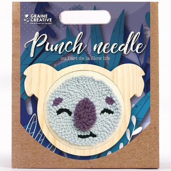 Kit Punch Needle - Koala - Photo n°2