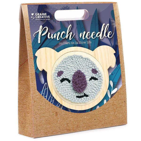 Kit Punch Needle - Koala - Photo n°1