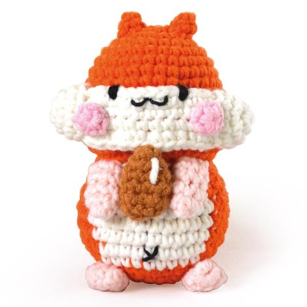 Kit Crochet Amigurumi - Pochi le Hamster - Photo n°2