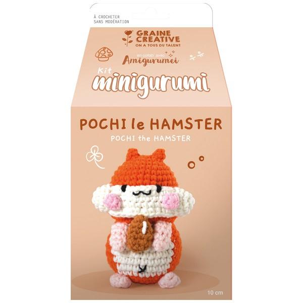 Kit Crochet Amigurumi - Pochi le Hamster - Photo n°3