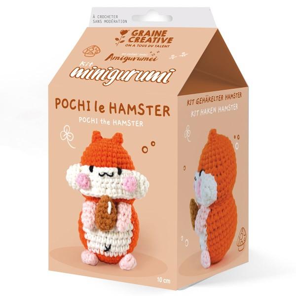 Kit Crochet Amigurumi - Pochi le Hamster - Photo n°1