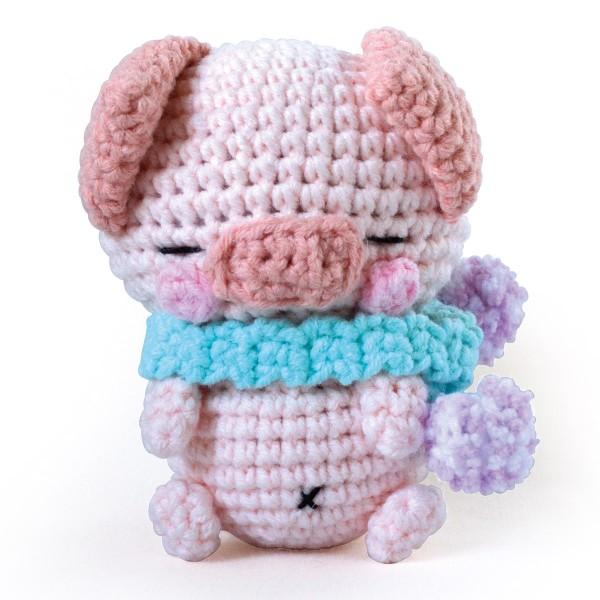 Kit Crochet Amigurumi - Poco le Cochon - Photo n°2