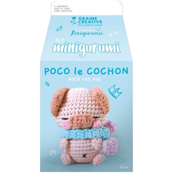 Kit Crochet Amigurumi - Poco le Cochon - Photo n°3