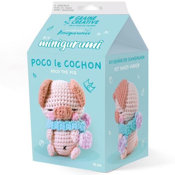 Kit Crochet Amigurumi - Poco le Cochon - Photo n°1